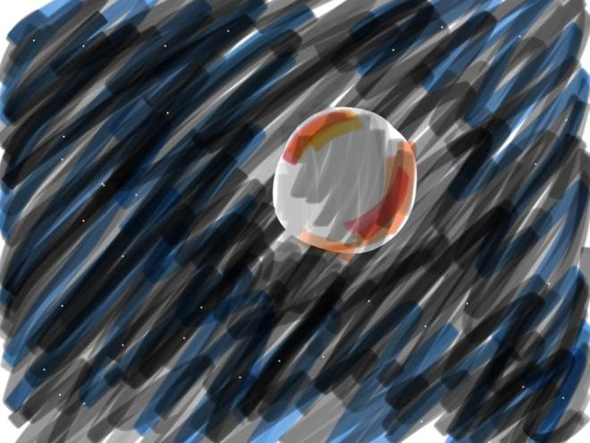 Blood Moon Drawing
