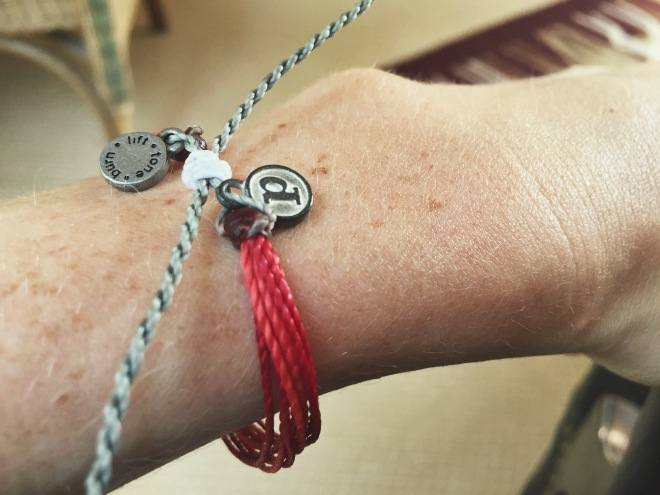 Oh hey, bony wrist. Love this bracelet:)